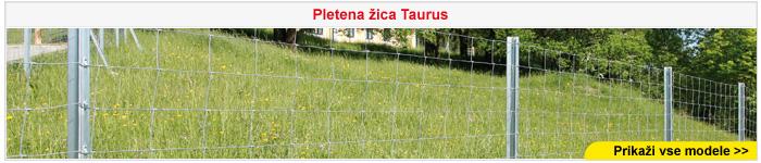 Taurus pletena žica