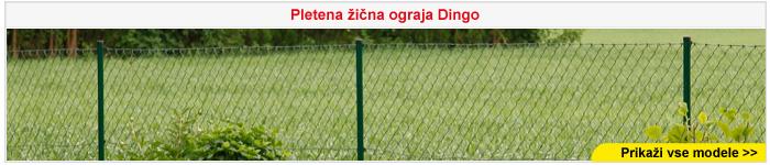 Pletena žična ograja Dingo